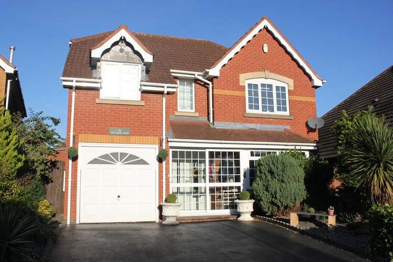 4 Bedrooms Detached House for sale in Aldin Way , Hinckley