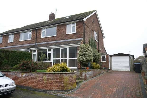 3 Bedrooms Semi Detached House for sale in Hillcrest Lane, Husbands Bosworth, Lutterworth, Leicestershire
