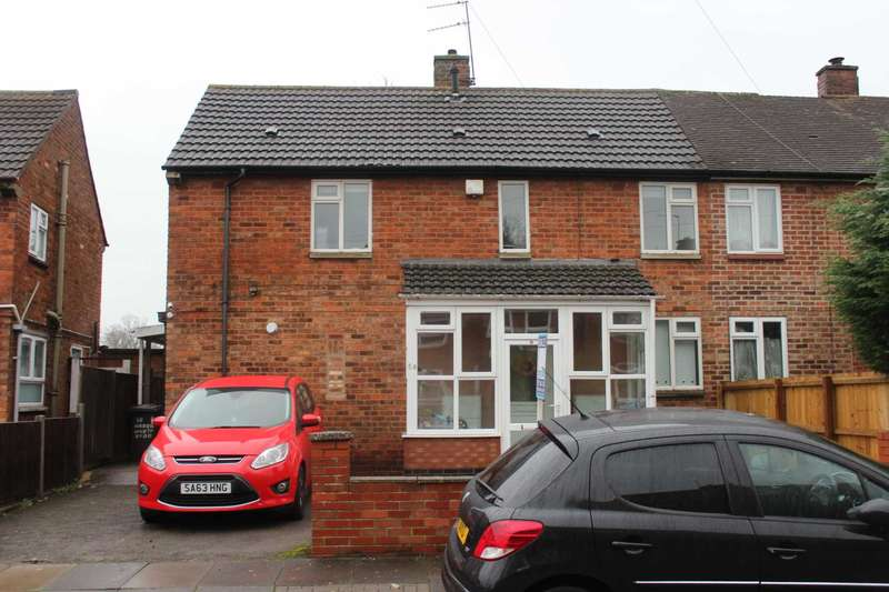 3 Bedrooms Semi Detached House for sale in Harringworth Road, Leicester