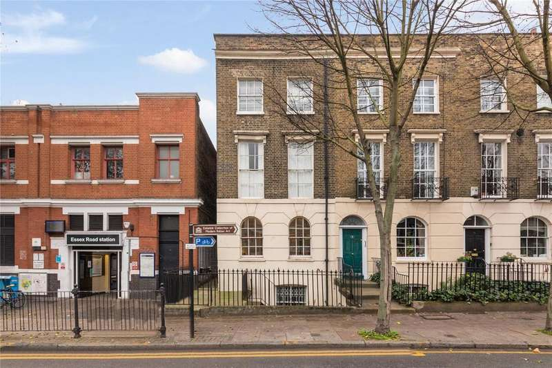 2 Bedrooms Flat for sale in Canonbury Road, London