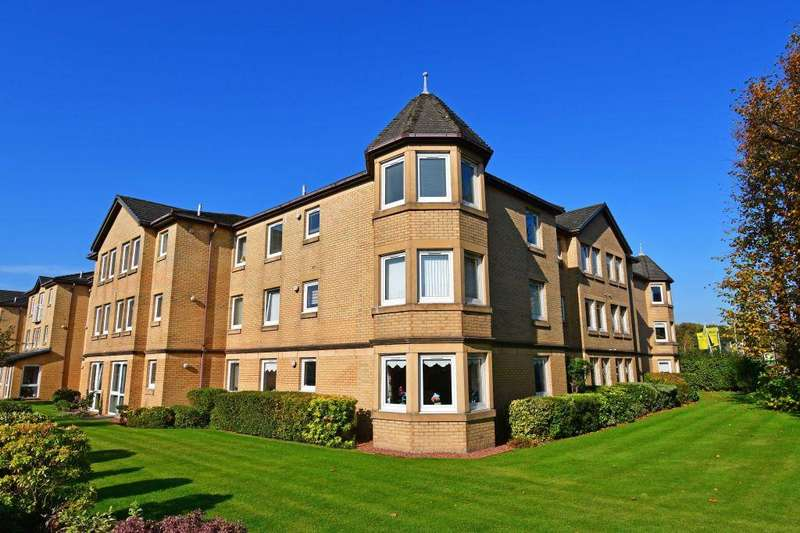 2 Bedrooms Retirement Property for sale in 43 Strathmore Court, 20 Abbey Drive, Glasgow G14 9JX