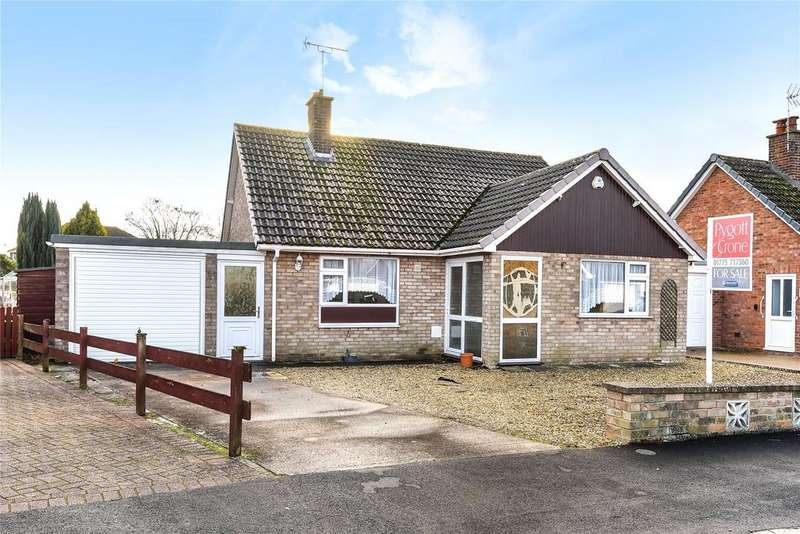 3 Bedrooms Detached Bungalow for sale in Crown Drive, Spalding, PE11