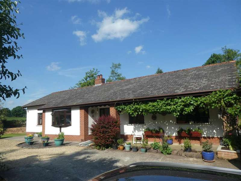 4 Bedrooms Detached Bungalow for sale in Crugybar, Near Lampeter SA19