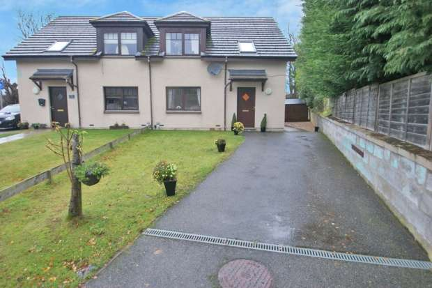 4 Bedrooms Semi Detached House for sale in The Cooperage, Auchleven, Aberdeenshire, AB52 6PW