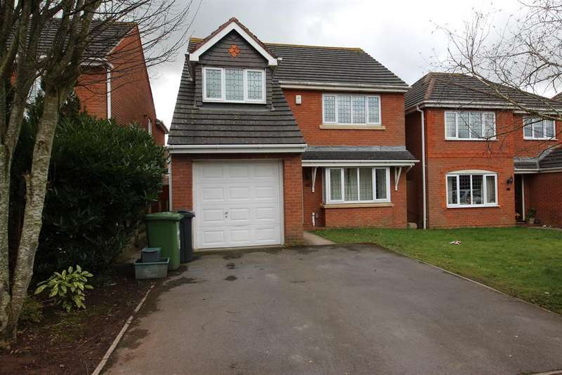 4 Bedrooms Detached House for sale in Ham Farm Lane, Emersons Green, Bristol, BS16 7BW