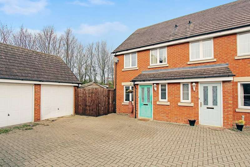 3 Bedrooms End Of Terrace House for sale in Fox Hedge Way, Sharnbrook, Bedford, MK44