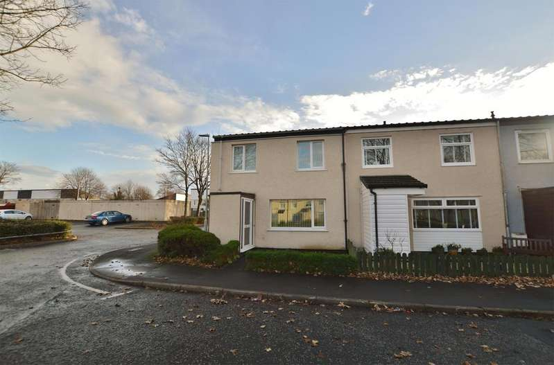 3 Bedrooms End Of Terrace House for sale in 1 Ardmillan Square, KILWINNING, KA13 6LR