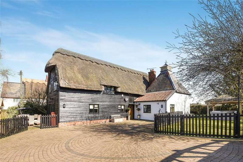4 Bedrooms Equestrian Facility Character Property for sale in Pound Green, Cowlinge, Newmarket, Suffolk, CB8