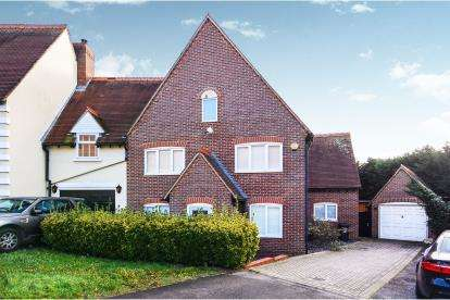 4 Bedrooms Link Detached House for sale in Church Hill, Epping, Essex