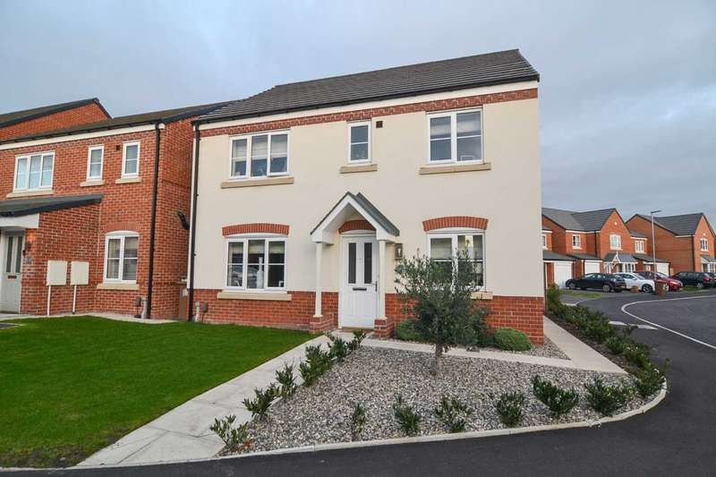4 Bedrooms Detached House for sale in Paxman Close, Newton Le Willows