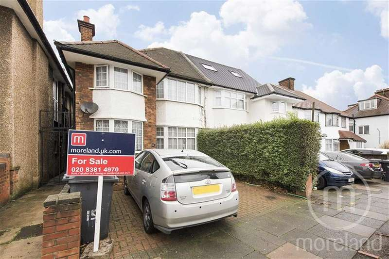 4 Bedrooms Semi Detached House for sale in Russell Gardens, Golders Green, NW11