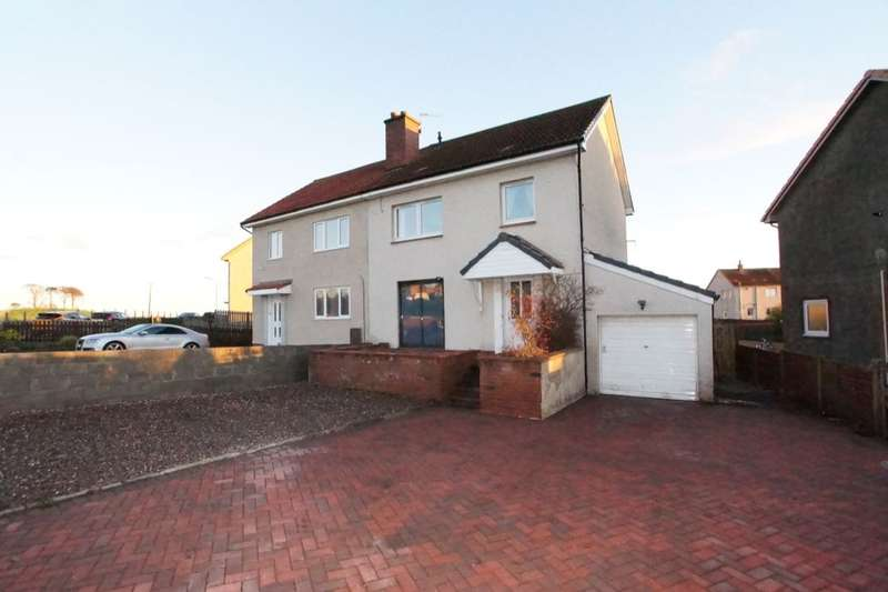3 Bedrooms Semi Detached House for sale in Myreside Avenue, Kennoway, Leven, KY8