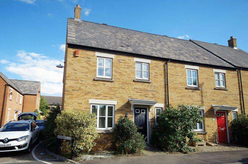 3 Bedrooms End Of Terrace House for sale in Riviera Way, Stoke Gifford, Bristol