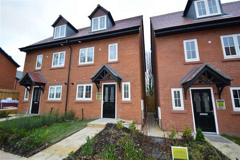 4 Bedrooms Semi Detached House for sale in Hope Park Mews, Former Macclesfield Hospital, Macclesfield