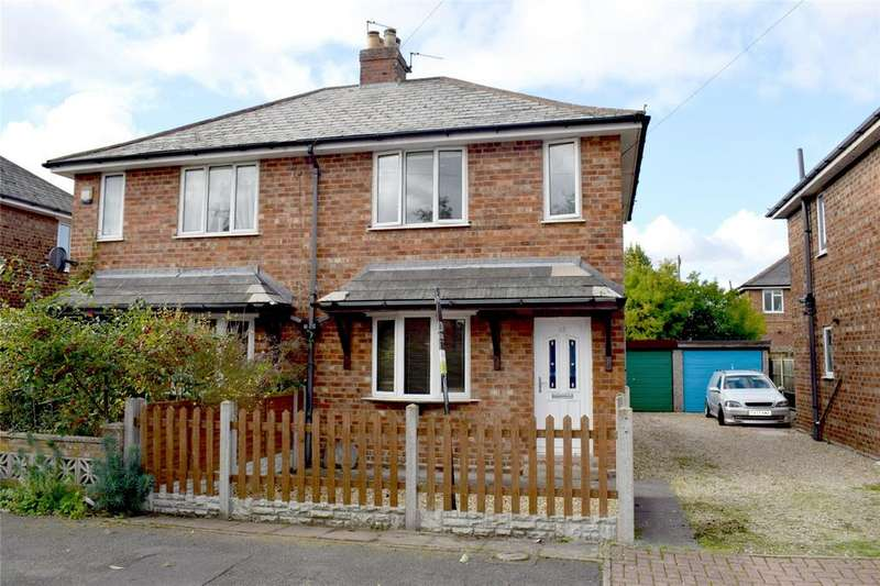 2 Bedrooms Semi Detached House for sale in Queensfield, Gainsborough, Lincolnshire, DN21