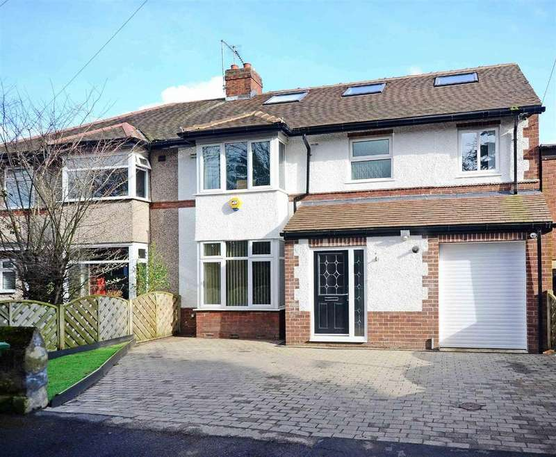 5 Bedrooms Semi Detached House for sale in High Trees, Dore Village, Sheffield