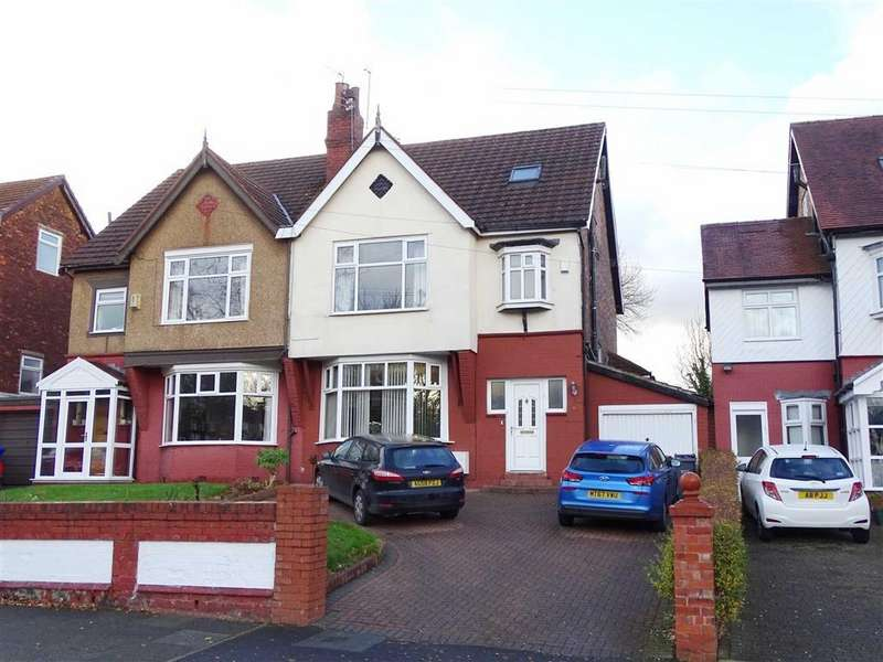 5 Bedrooms Semi Detached House for sale in Park Road, Crumpsall, Manchester