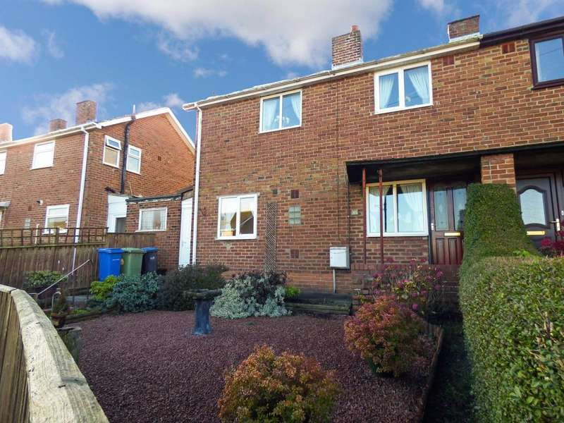 3 Bedrooms Semi Detached House for sale in East Lea, Thornley, Durham, Durham, DH6 3EA