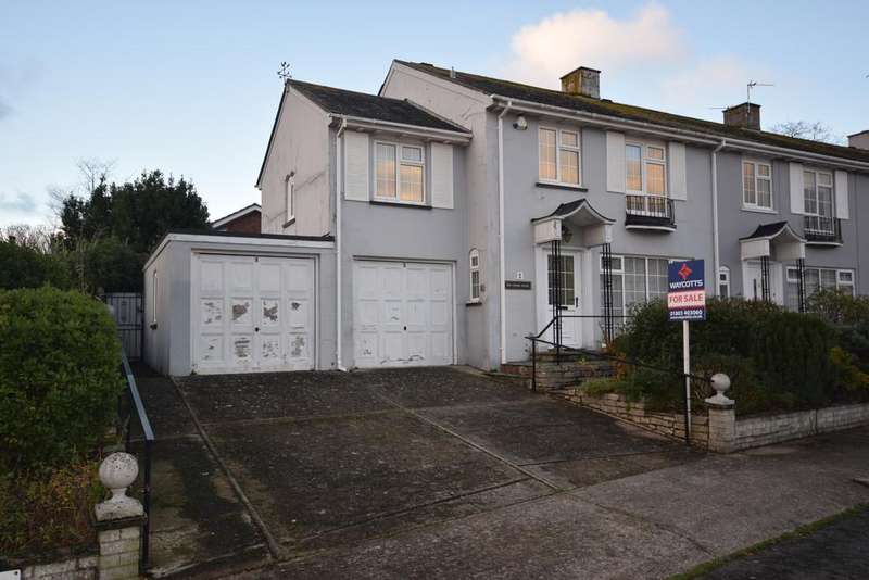 3 Bedrooms End Of Terrace House for sale in Ansteys Close, Wellswood