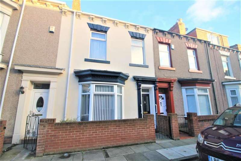 2 Bedrooms Terraced House for sale in Stotfold Street, Hartlepool