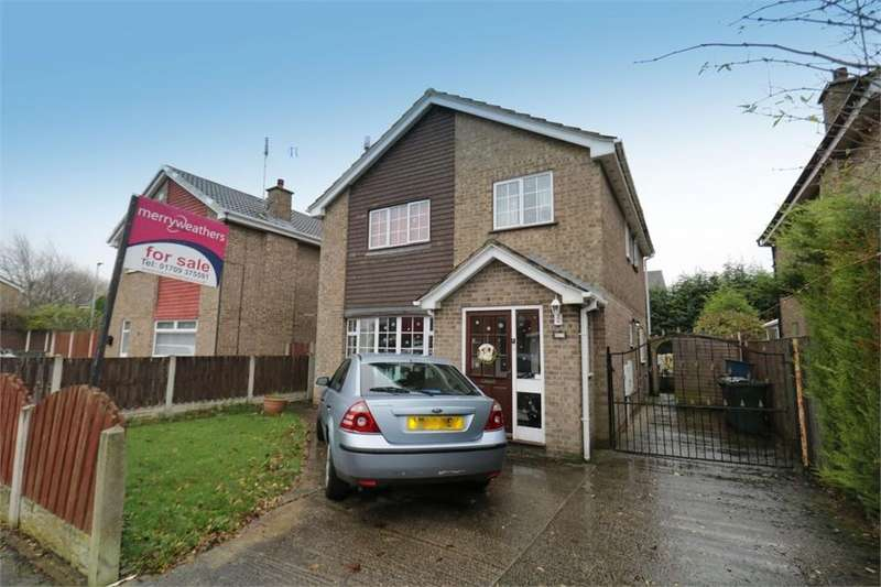 4 Bedrooms Detached House for sale in Turnberry Way, Dinnington, Sheffield, South Yorkshire