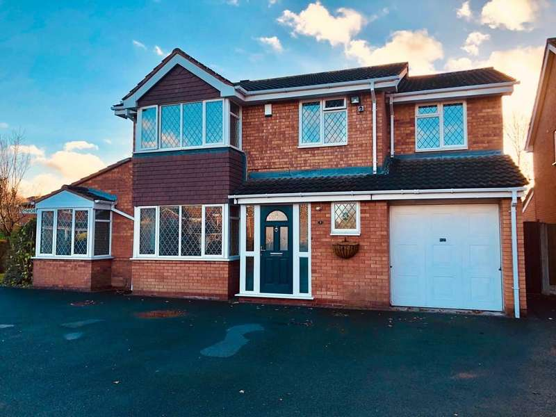 5 Bedrooms Detached House for sale in Troon, Amington, Tamworth