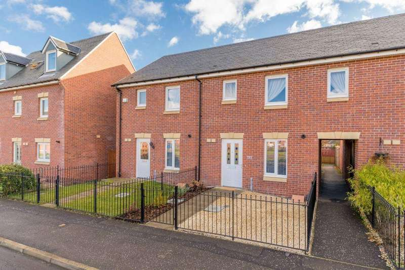 3 Bedrooms Terraced House for sale in 8 Burnbrae Avenue, Bonnyrigg, EH19 3FN