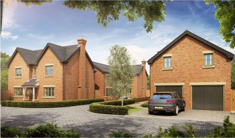4 Bedrooms Detached House for sale in Pear Tree Gardens, Lowry Hill Lane, Lathom, Ormskirk, L40 5UL