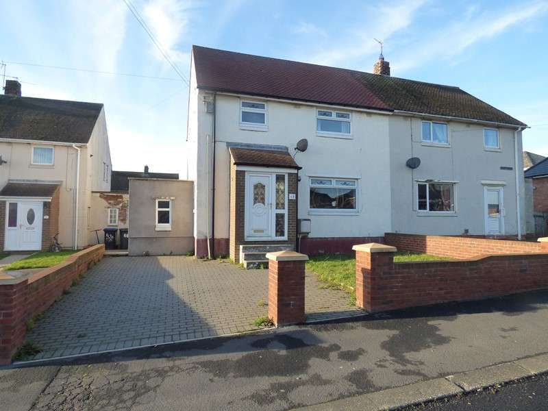 3 Bedrooms Property for sale in Tate Avenue, Kelloe, Durham, Durham, DH6 4LS