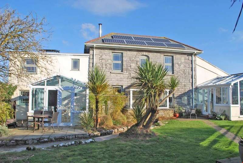 5 Bedrooms Detached House for sale in Ashton, Nr. Helston, Cornwall