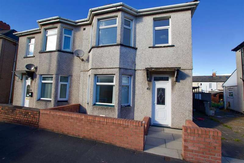 3 Bedrooms Semi Detached House for sale in Cromwell Road, Newport, NP19 0FY