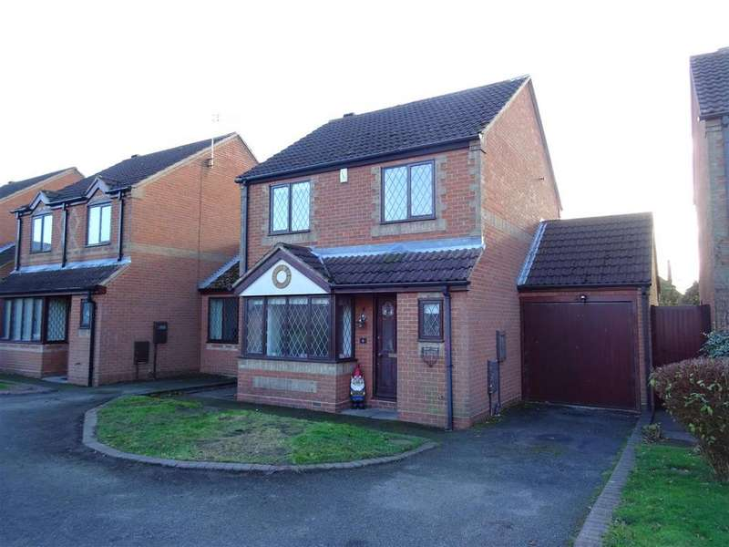 3 Bedrooms Detached House for sale in The Rookery, Heather, Leicestershire