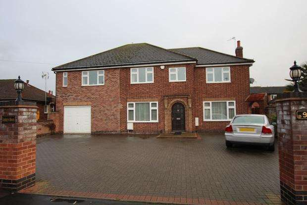 6 Bedrooms Detached House for sale in Colby Drive, Thurmaston, Leicester, LE4