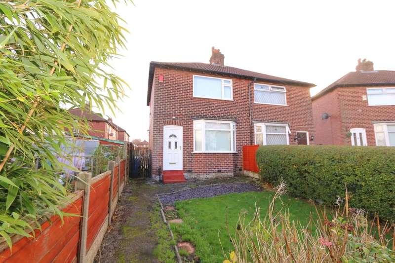2 Bedrooms Semi Detached House for sale in Rutland Avenue, Denton, Manchester, M34
