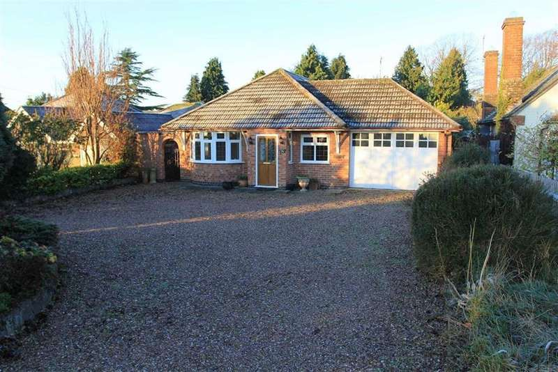 3 Bedrooms Detached Bungalow for sale in Station Lane, Scraptoft, Leicester