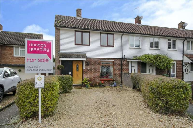 2 Bedrooms End Of Terrace House for sale in Parkland Drive, Bracknell, Berkshire, RG12
