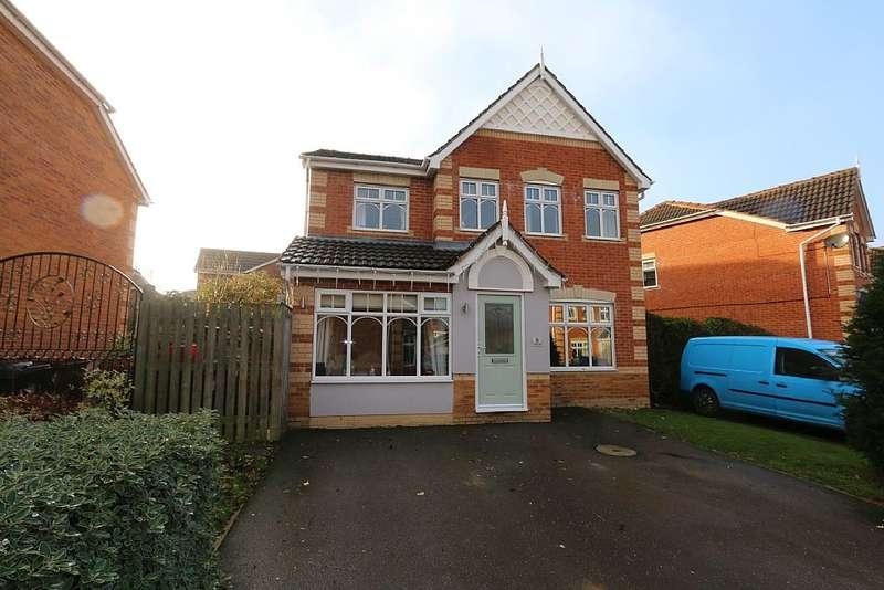 4 Bedrooms Detached House for sale in Millers Dale, Morley, Leeds, West Yorkshire, LS27 9TQ