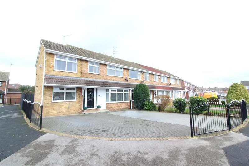 4 Bedrooms End Of Terrace House for sale in Glenwood Close, Hull