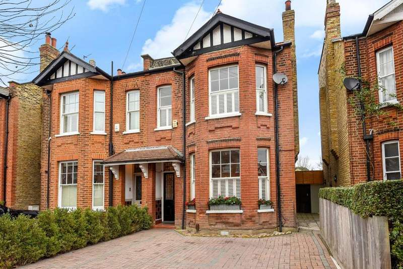 4 Bedrooms Semi Detached House for sale in Haydon Park Road, Wimbledon