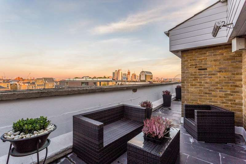 4 Bedrooms Maisonette Flat for sale in Wapping Lane, E1W