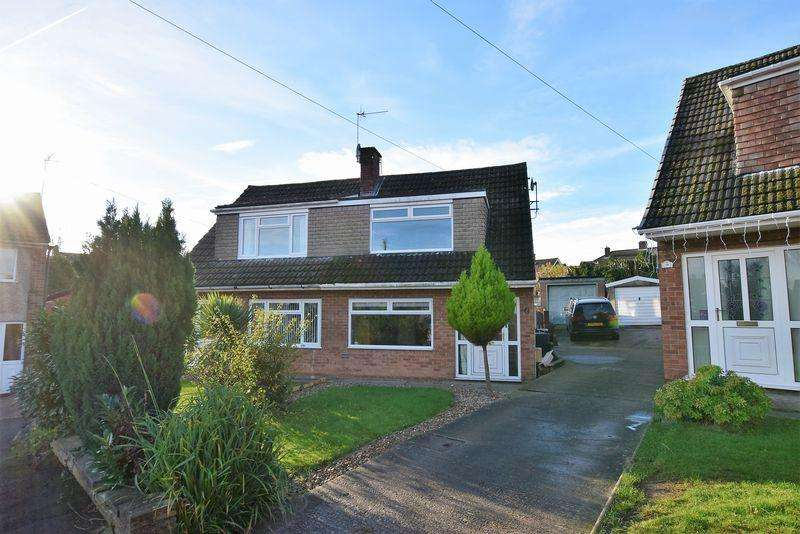 3 Bedrooms Semi Detached House for sale in Chesterton Close, Brimington, Chesterfield