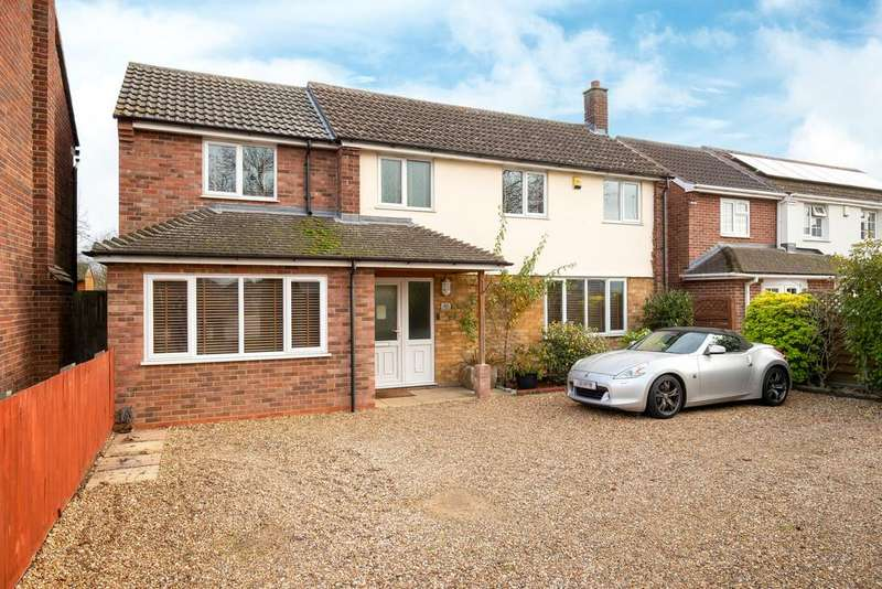 4 Bedrooms Detached House for sale in Ramsey Road, St. Ives