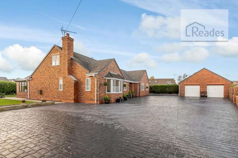 5 Bedrooms Detached Bungalow for sale in Knowle Lane, Buckley CH7 3