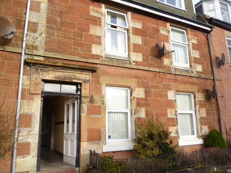 2 Bedrooms Ground Flat for sale in G/R 19 Union Street, LARGS, KA30 8DG