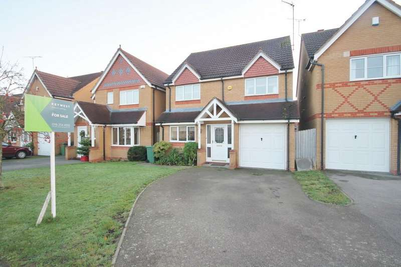 4 Bedrooms Detached House for sale in Jewsbury Way, Thorpe Astley, Leicester LE3