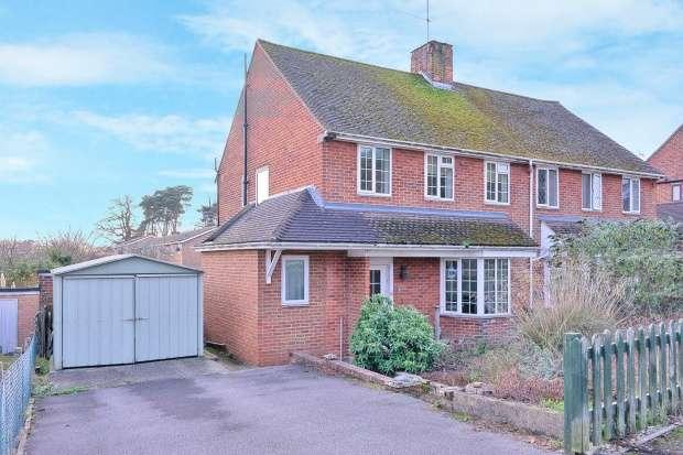 3 Bedrooms Semi Detached House for sale in Lower Broadmoor Road, Crowthorne, Berkshire, RG45 7HD