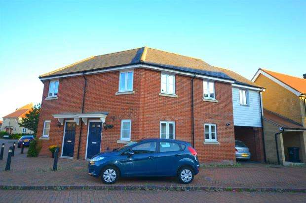 3 Bedrooms Semi Detached House for sale in Salamanca Way, Colchester