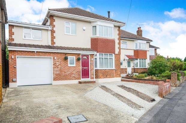 4 Bedrooms Detached House for sale in Jameson Road, Bournemouth