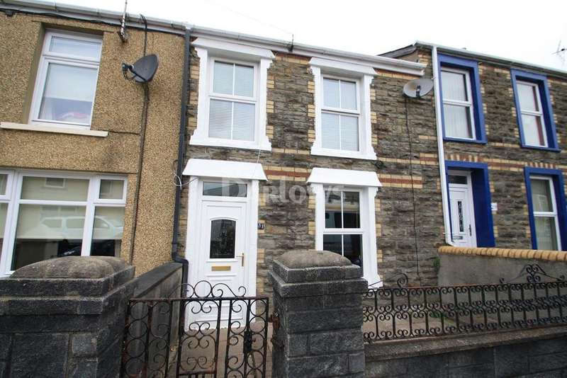 2 Bedrooms Terraced House for sale in James Street, Tredegar, Gwent