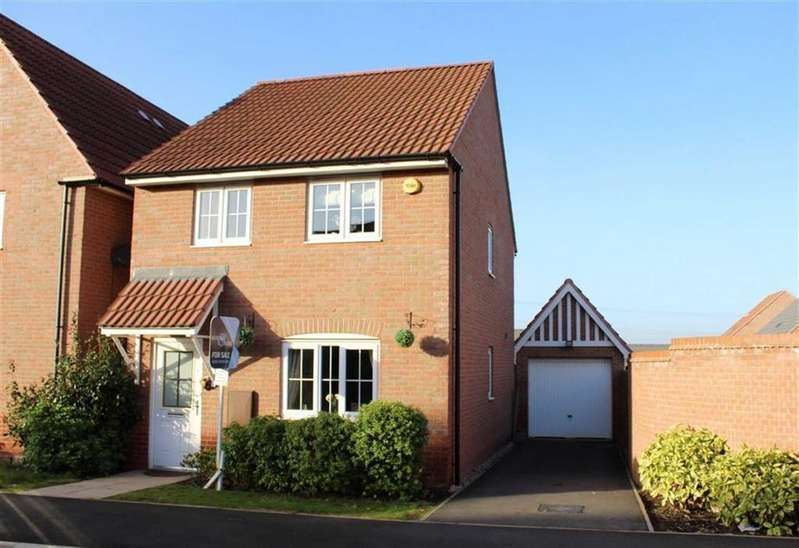 3 Bedrooms Detached House for sale in May Drive, Glenfield